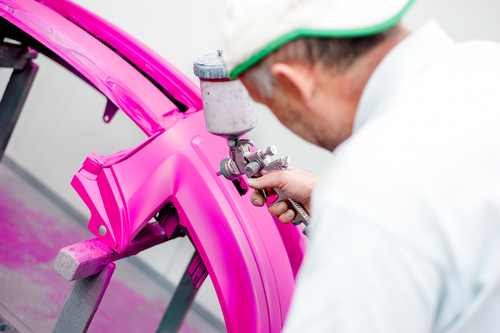 automotive coatings - pigment violet